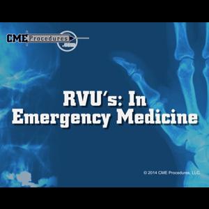 RVUs in Emergency Medicine